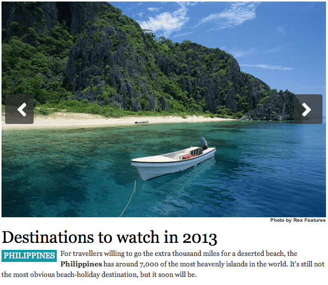 Philippines Beach: 2013 Is The Year Of Philippine Beaches