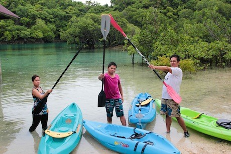 Ready for adventure at Danjugan Island!