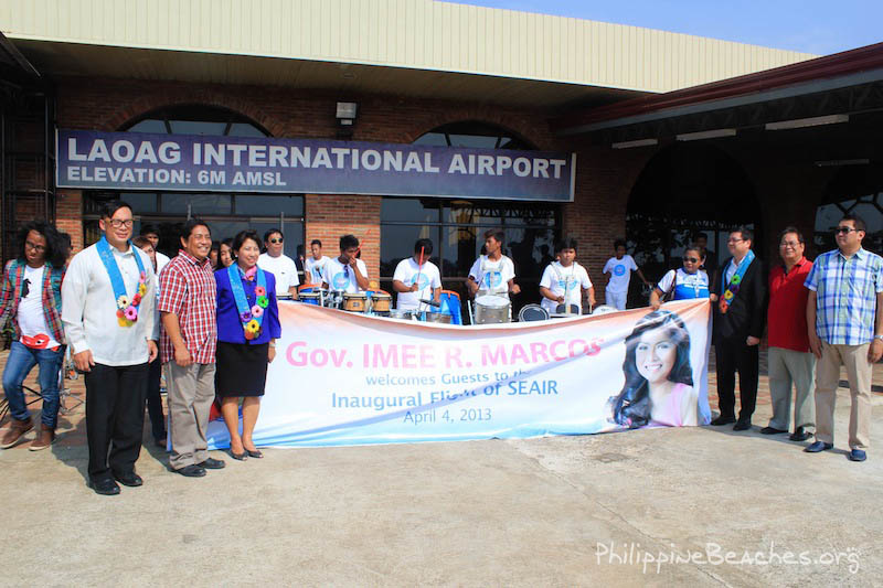 laoag airport welcome