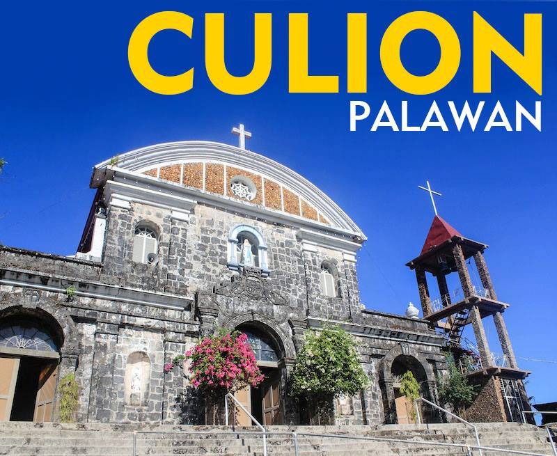 The fortress-turned-church of Culion --- La Inmaculada Concepcion Church