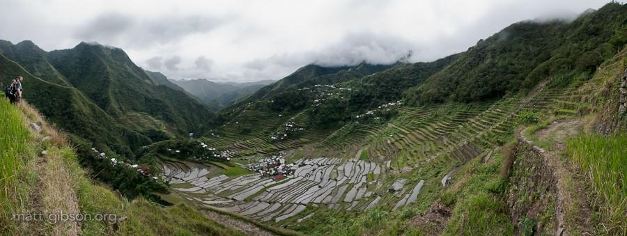Matt's photo of the rice terraces