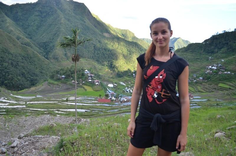 Alexandra at Batad Rice Terraces