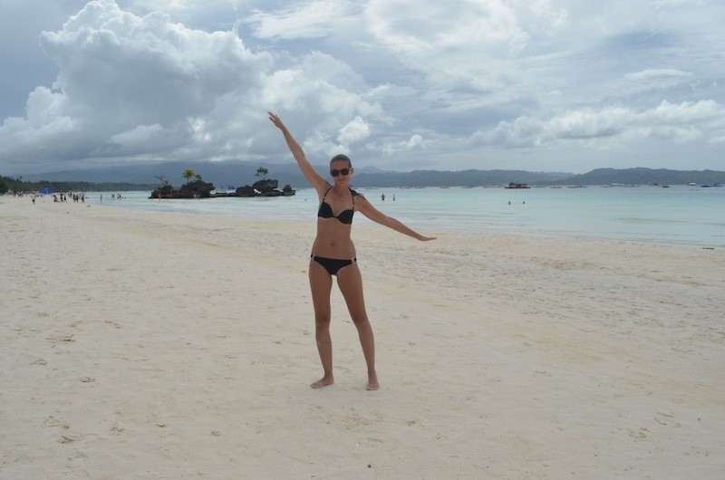 Alexandra in White Beach, Boracay