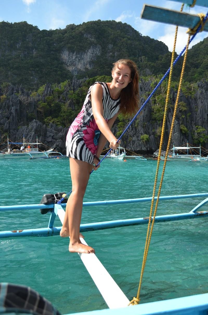 Alexandra island hopping in El Nido