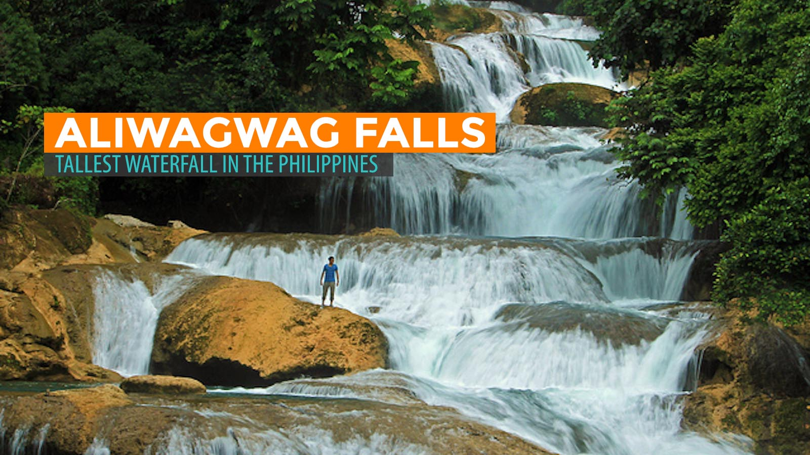 Aliwagwag Falls The Tallest Waterfall In The Philippines