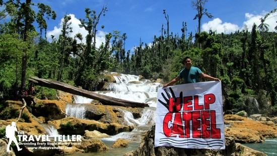 Olan of The TravelTeller and the #HelpCateel movement