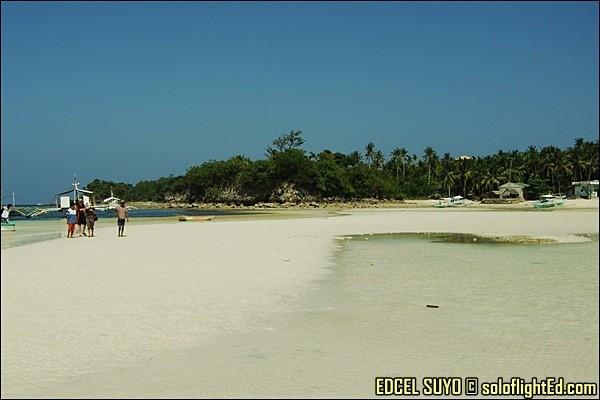 bounty beach malapascua island