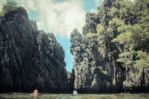 el nido secret beach