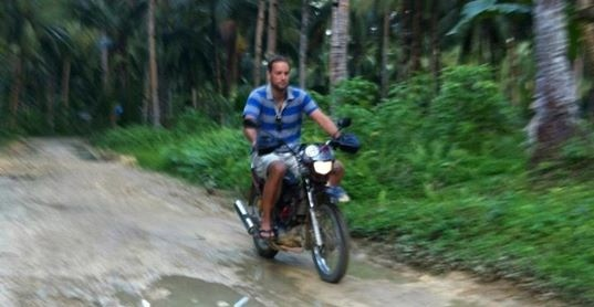 jasper ribbers motorbike