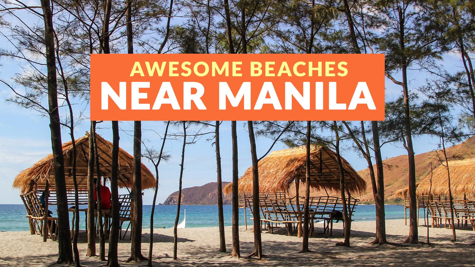 13 Beaches Near Manila And How To Get There Philippine