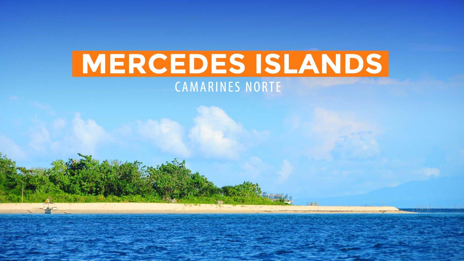 Mercedes Group Of Islands Camarines Norte Philippine Beach Guide