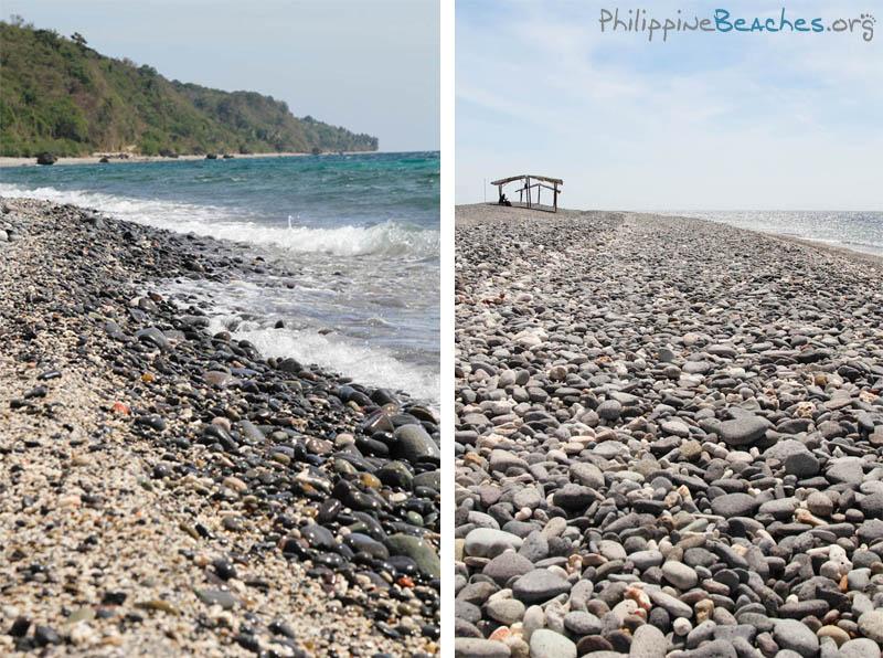 Pebble Beaches of Malabrigo, Lobo, Batangas
