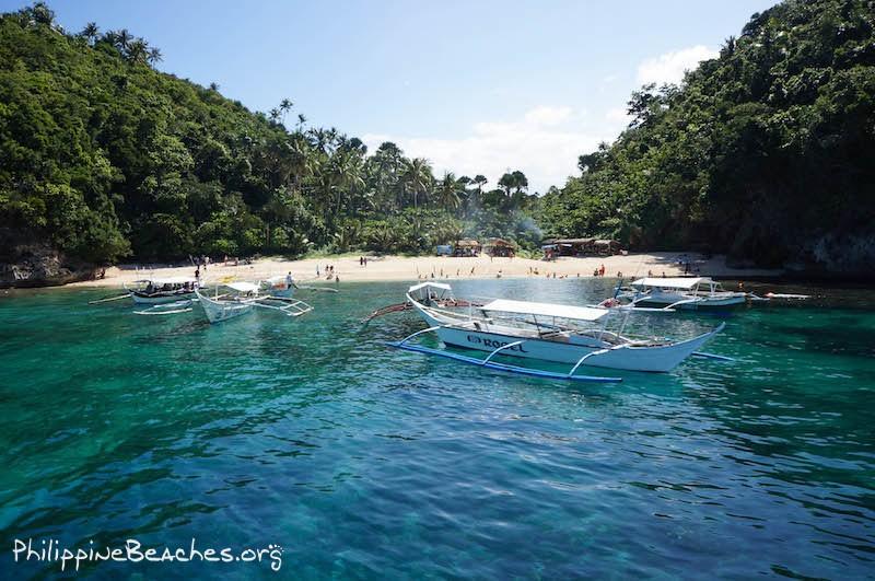 Haligi Beach, Puerto Galera