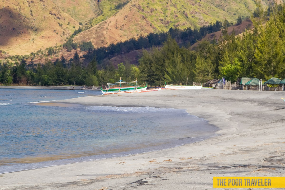 Silanguin Cove is in San Antonio, Zambales