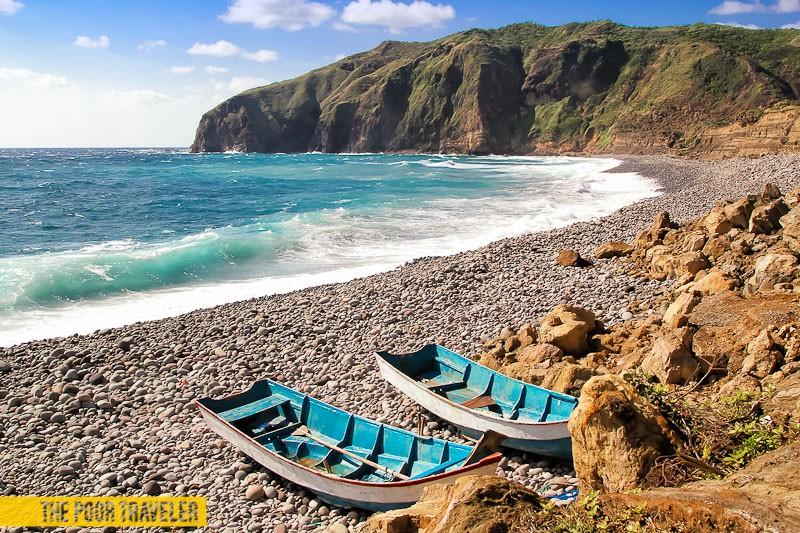 Beach Blues! Traditional Ivatan boats.