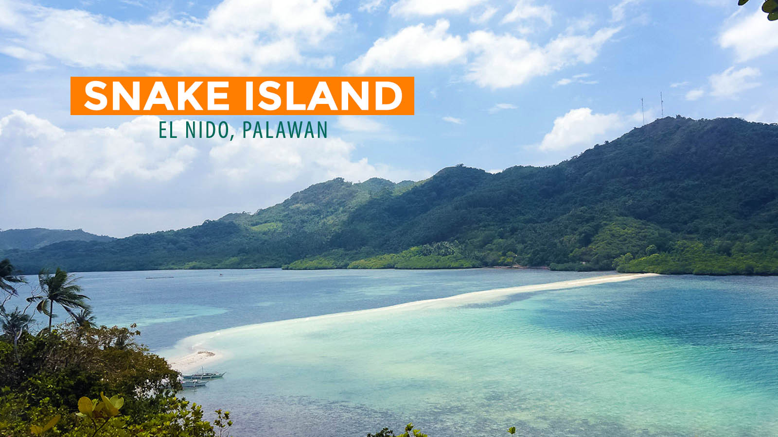 Quick Guide Snake Island In El Nido Palawan Philippine