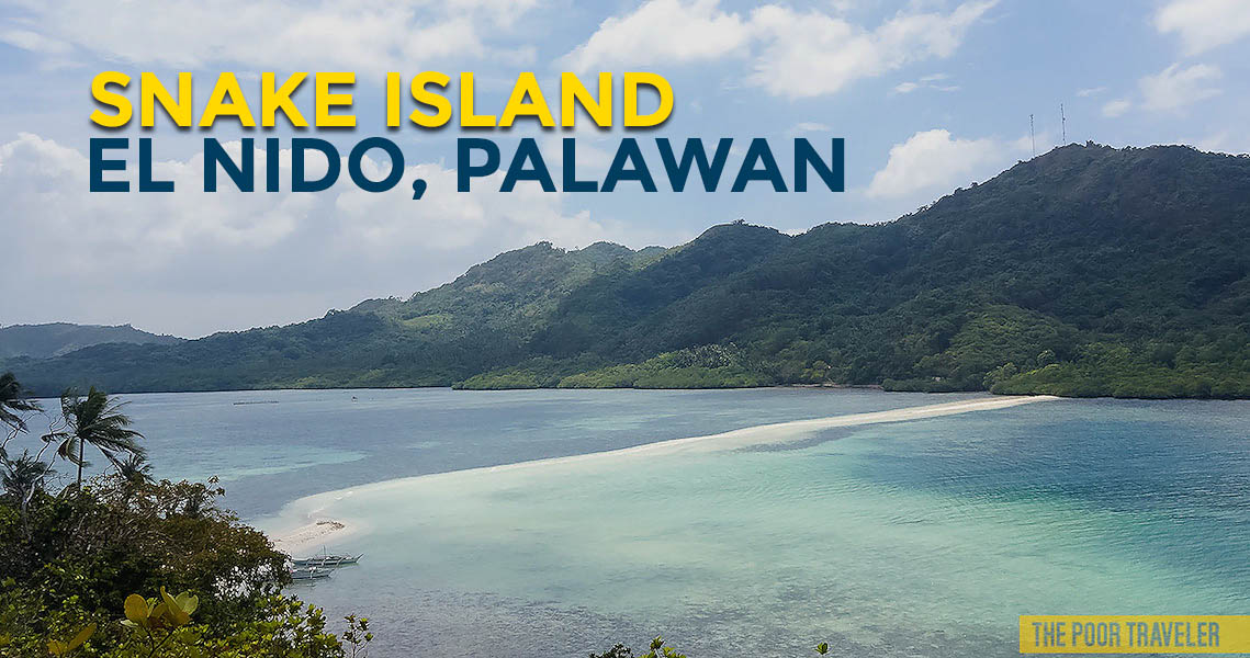 Quick Guide Snake Island In El Nido Palawan Philippinebeaches Org