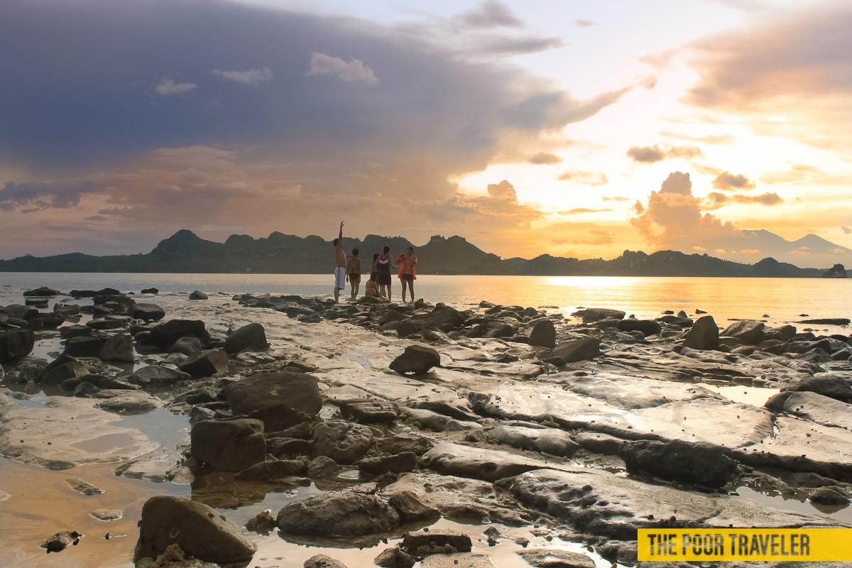 Sunset at Dampalitan Island, Quezon