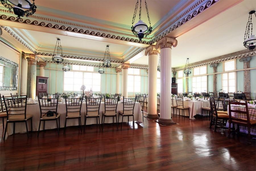 Reception set-up in Casa Quiapo (Photo courtesy of Las Casas Filipinas De Acuzar)
