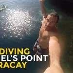 Cliff Diving at Ariel's Point in Boracay