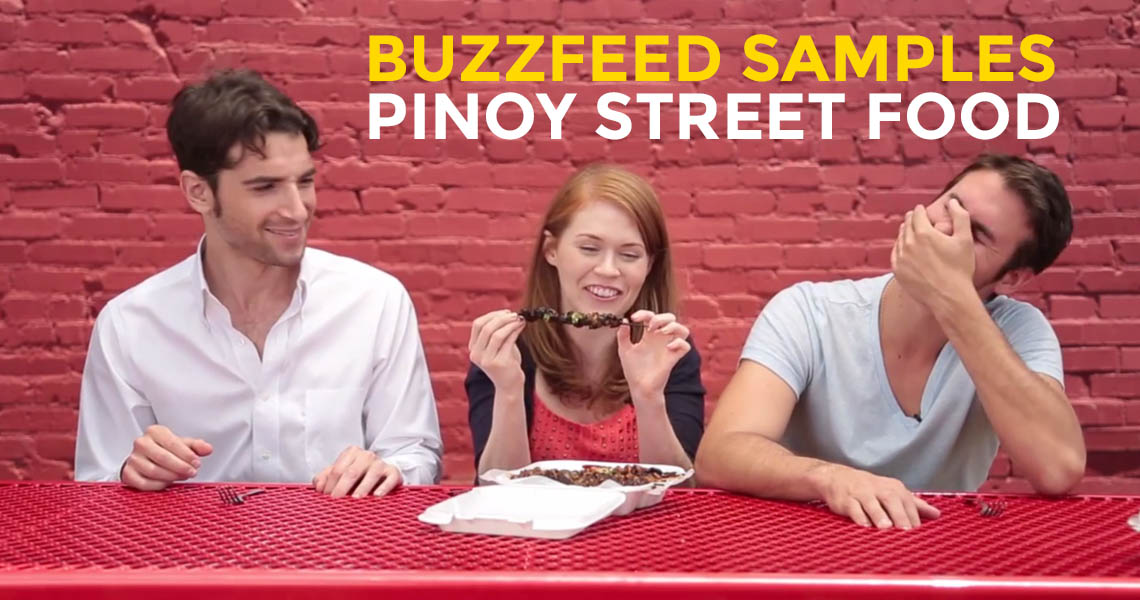 BuzzFeed Team Samples Filipino Street Food