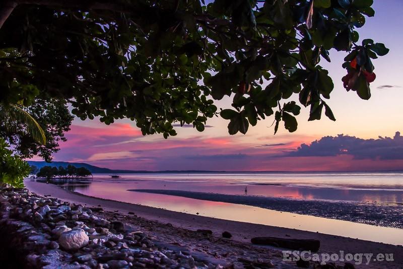 Paradise Sunset. Island of Siquijor