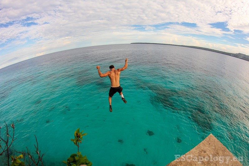 Cliff Diving in Siquijor