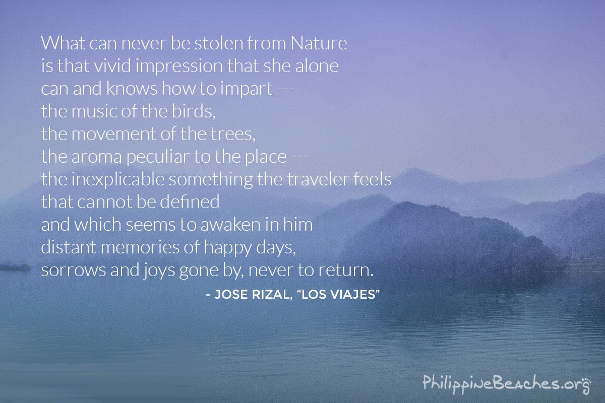 Jose Rizal Los Viajes