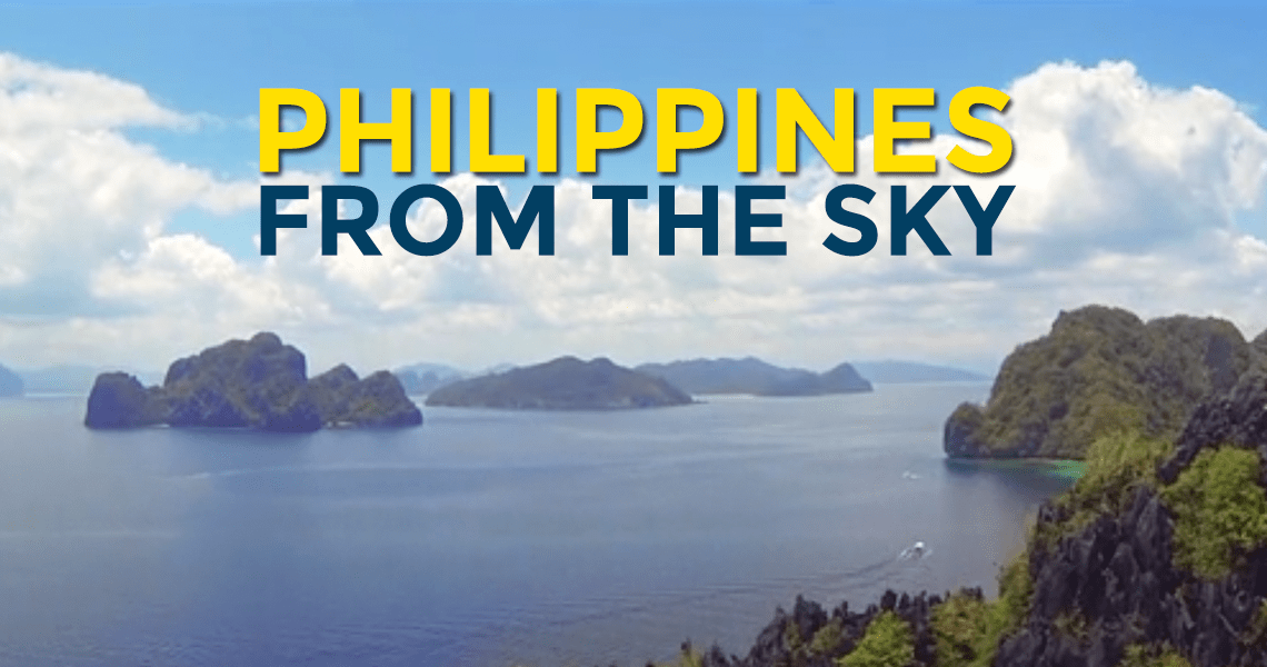 Video: Philippines From the Sky by Frédéric Bussière