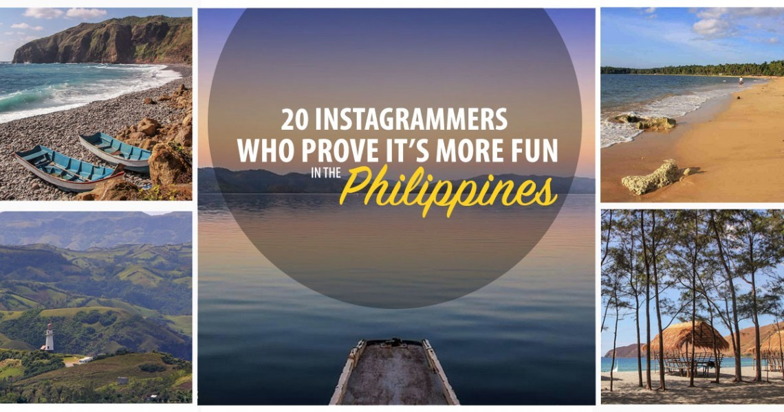20 Instagrammers Who Prove It's More Fun in the Philippines