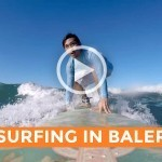 Video: Surfing in Baler (Justin Romero)