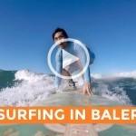 Video: Surfing in Baler (Justin Romero)