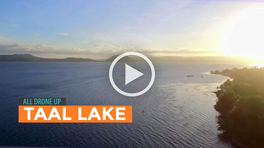 Taal Lake Drone Video