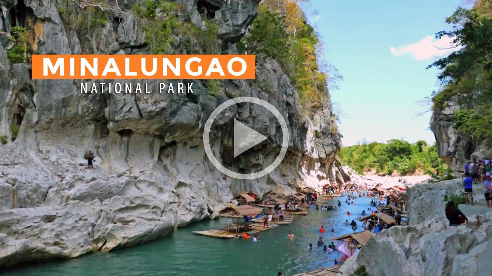 Video Minalungao National Park Nueva Ecija Philippine Beach Guide