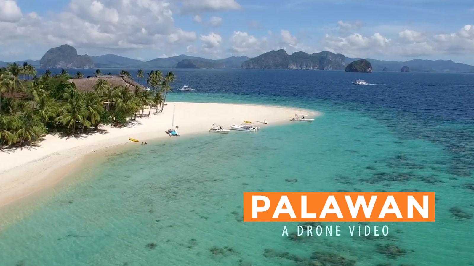 Watch Inspired In Palawan Drone Video Philippine Beach Guide