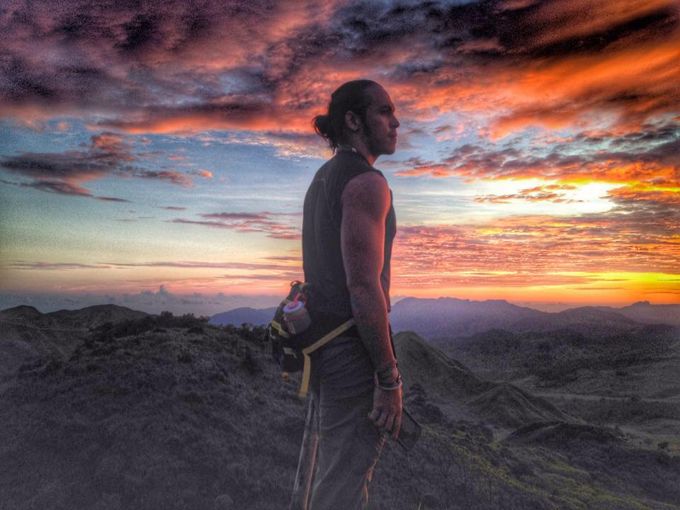 BORN TO BE WILD...AND WANDERING: Great adventures will always be on the horizon for Kiko Rustia. Photo from Kiko's Facebook account.