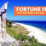 Fortune Island, Batangas: Important Tips