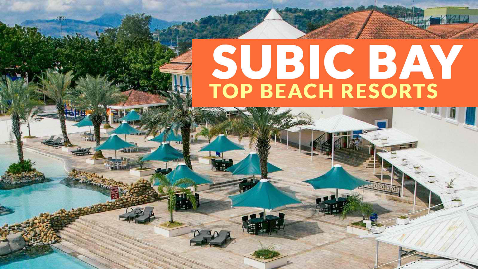 Top 7 subic beach resorts philippine beach guide for Subic resorts with swimming pool