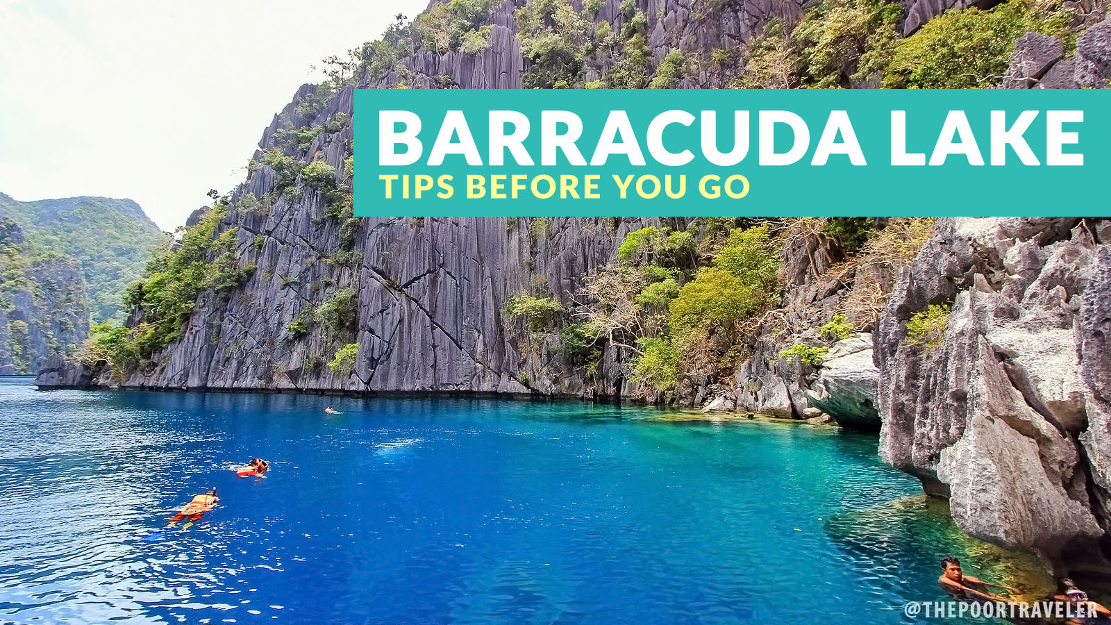 Barracuda Lake Coron Important Tips Philippine Beach Guide