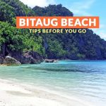 BITAUG BEACH, DINAGAT ISLANDS: IMPORTANT TRAVEL TIPS