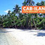 Cab-ilan Beach, Dinagat Islands: Important Tips