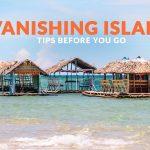 VANISHING ISLAND, ALBAY: IMPORTANT TRAVEL TIPS