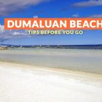 Dumaluan Beach, Bohol: Important Tips