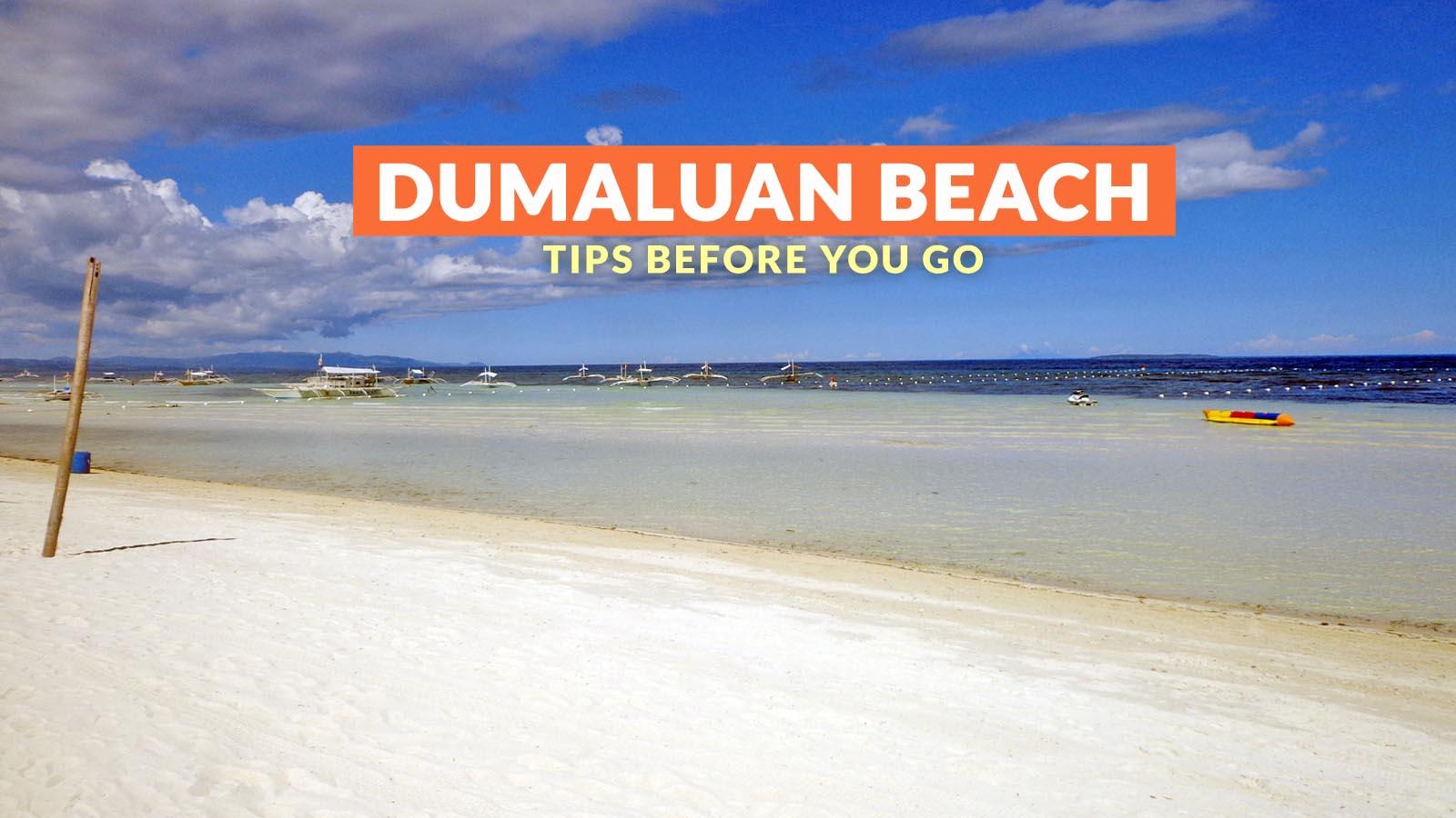 Dumaluan Beach Resort Map%0A Philippine Beach Guide