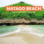 Natago Beach, Guimaras: Important Tips