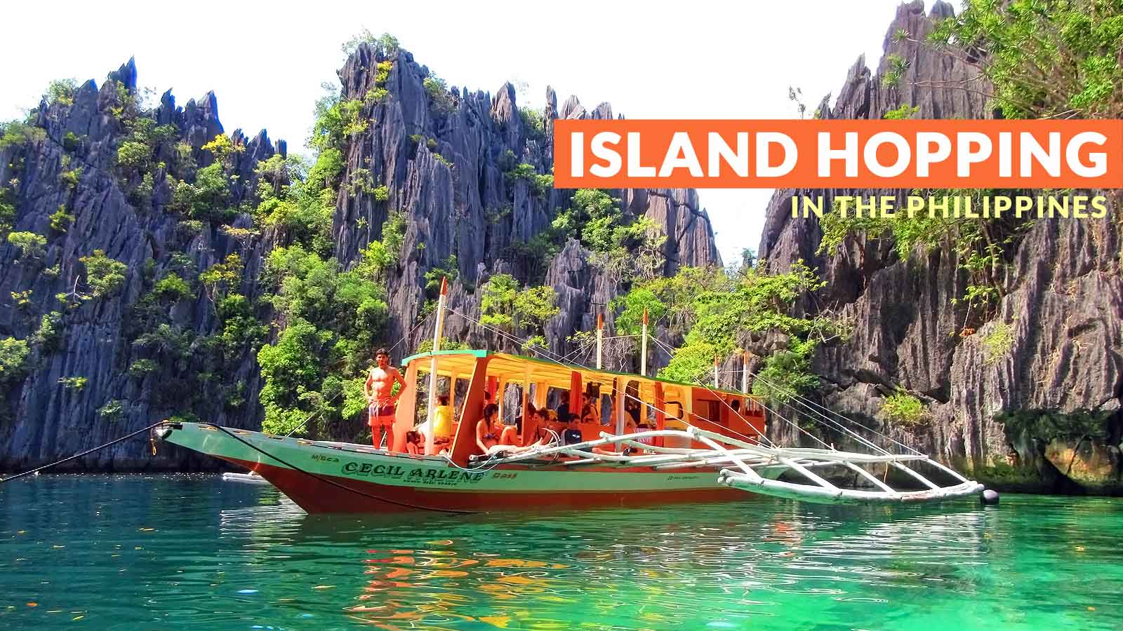 Best Places To Go Island Hopping In The Philippines Philippine Beach Guide