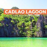 CADLAO LAGOON, EL NIDO: IMPORTANT TRAVEL TIPS