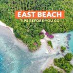 East Beach, Danjugan Island: Important Tips