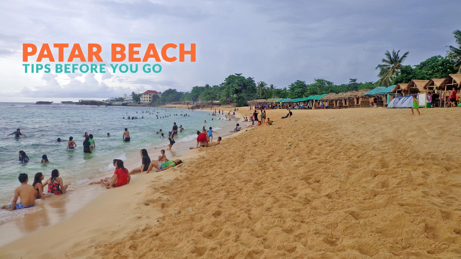 Patar Beach Bolinao Important Travel Tips Philippine