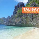 Talisay Beach, El Nido: Important Tips